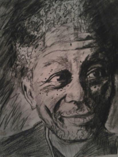 Morgan Freeman por Clara91